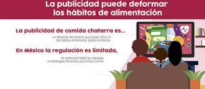 Fragmento del infográfico La publicidad puede deformar los hábitos de alimentación desde la infancia