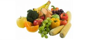 Imagen de frutas, verduras, cereales y leguminosas
