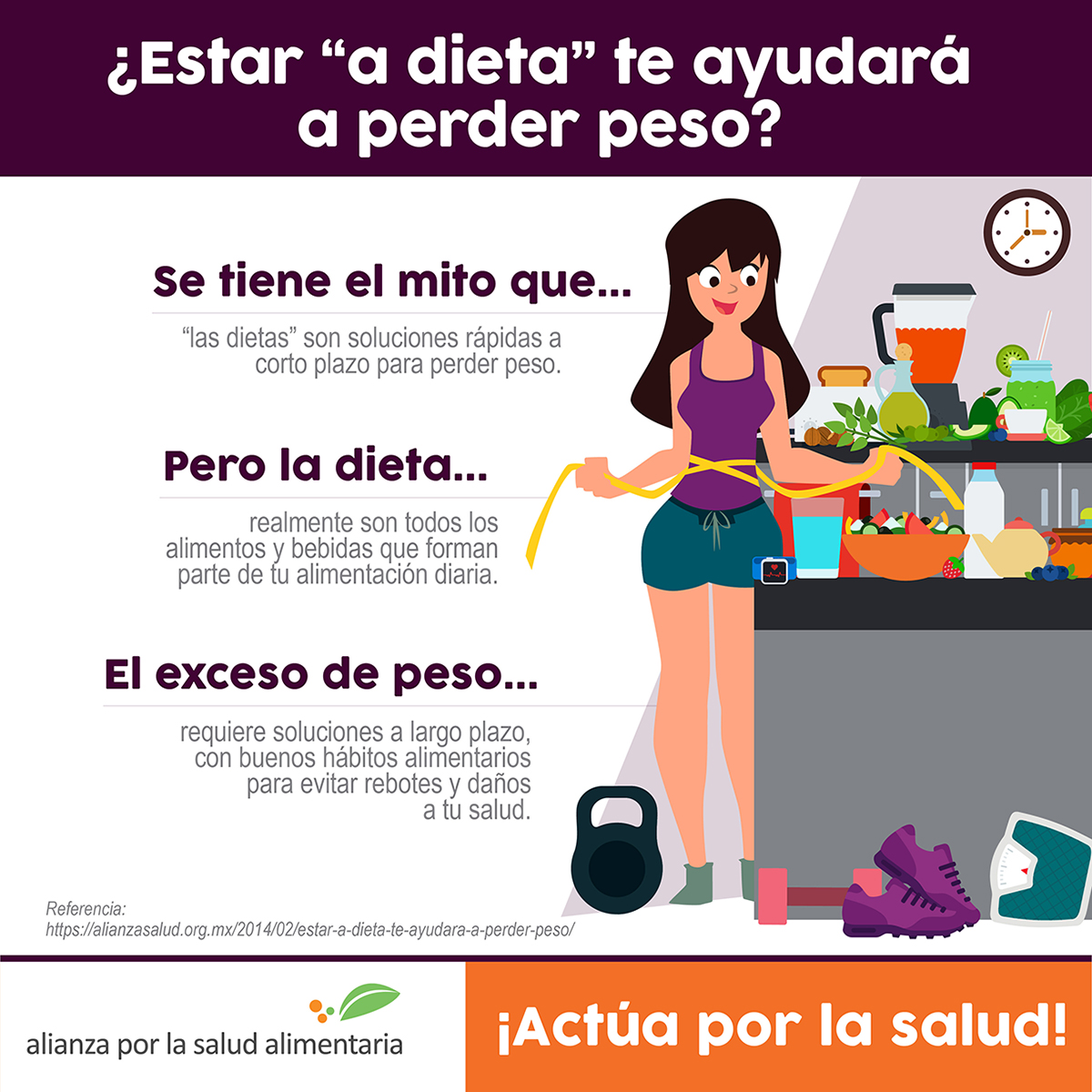 Peso para dieta bajar
