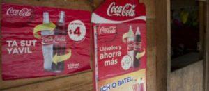 Anuncios de Coca-Cola en Chiapas, México