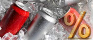 Impuesto en EU reduce 21% consumo de refrescos