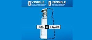 ¡Reduce tu consumo de sal!