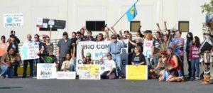Activistas cierran planta de Nestlé en California por lucrar con el agua en tiempos de sequía