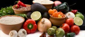 Aliementos que constituyen parte de la dieta tradicional mexicana