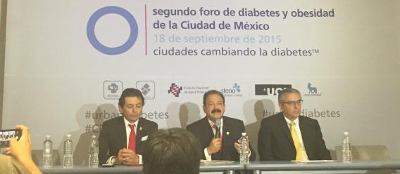 Uno de cada tres adultos en la Ciudad de México vive con diabetes o prediabetes