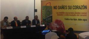 """La Alianza por la Salud Alimentaria lanza campaña para bajar consumo de bebidas azucaradas """"No dañes su corazón"""""""