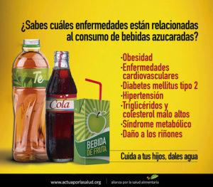 ¿Cómo las bebidas azucaradas dañan tu corazón y el de tus hijos?