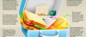 ¿Sándwich de jamón, galletas, yogurt y jugo en la lonchera de tus hijos? Estás muy equivocado