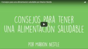 Consejos para una alimentación saludable por Marion Nestle