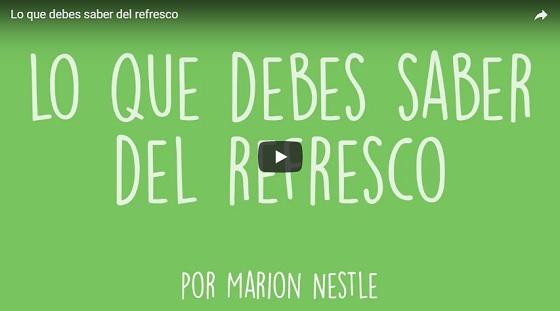 Lo que debes saber del refresco – Marion Nestle