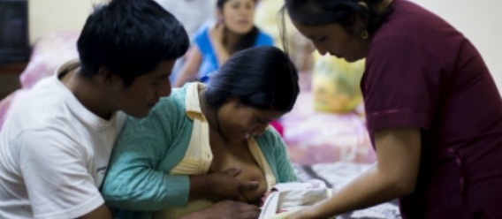 La lactancia materna en situaciones de emergencia salva vidas