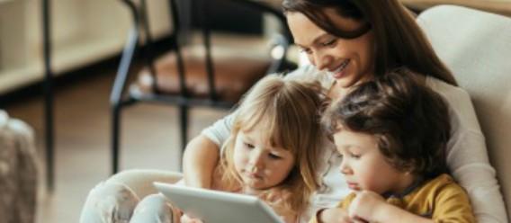 Hábitos saludables para el consumo mediático de los bebés y los niños en edad preescolar