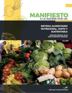 Manifiesto por un Sistema Alimentario Nutricional, Justo y Sustentable (versión actualizada 2019)