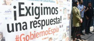 A más de un año de la denuncia del #GobiernoEspía a investigadores y activistas en salud pública, se exige a PGR presentar resultados de su investigación