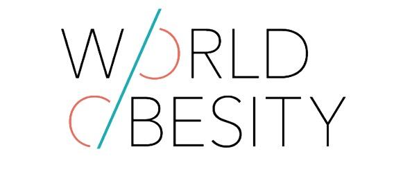 Logotipo de la World Obesity Federation (WOF) o Federación Mundial de Obesidad