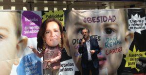 En casa de campaña Margarita Zavala