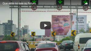 """Video en torno al lanzamiento de campaña """"Que este no sea su futuro"""""""