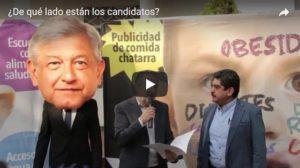 Video ¿de qué lado están los candidatos frente a la epidemia de la obesidad? ¿de la salud de los niños mexicanos o de las empresas?