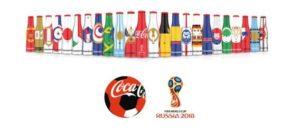 Colección botellitas mini mundialistas Coca-Cola FIFA Rusia 2018