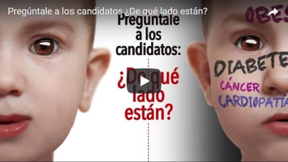 Video de la petición Pregúntale a los candidatos: ¿De qué lado están?