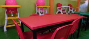 Interior de una estancia infantil Sedesol DIF sin niñxs