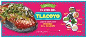 Invitación a sumarse al #RetoTlacoyo