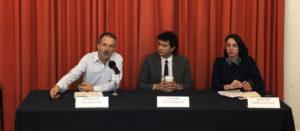 Conferencia de prensa de El Poder del Consumidor y ContraPESO denunciando acuerdo de comercio que sacrifica la salud de la población, poniendo por encima del derecho a la salud los intereses de las grandes corporaciones de alimentos y bebidas
