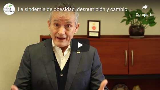 Portada del video La sindemia global de obesidad, desnutrición y cambio climático