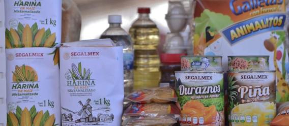 Canasta básica de alimentos en México (Seguridad Alimentaria Mexicana, Segalmex)