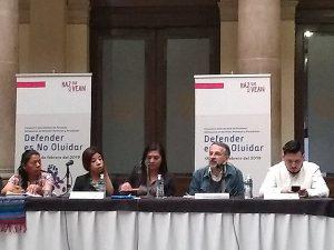 Encuentro Internacional de Personas Defensoras de Derechos Humanos y Periodistas, 18 de febrero 2019