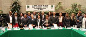 Mesa de trabajo 'La obesidad en México: una política sólida para combatir la epidemia' que se realizó en la Cámara de Diputados el 13 de febrero de 2019