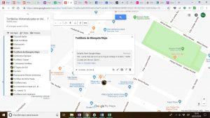 Mapa tortillería Blanquita Mejía
