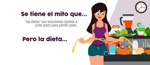 "¿Estar ""a dieta"" te ayudará a perder peso?"