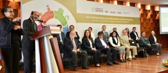 Intervención de Crispin Moreira de la FAO en el foro Fortalecimiento de la Alimentación y Entornos Escolares