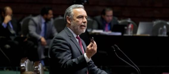 Alfonso Ramírez Cuéllar, diputado por Morena