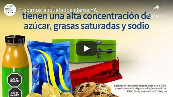 Portada del video Exijamos etiquetados claros para cuidar la salud de nuestros hijos en México