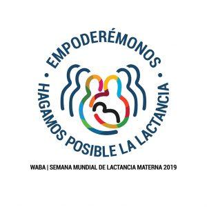 Logo de la Semana Mundial de la Lactancia Materna 2019