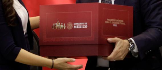 Entrega del paquete económico 2020 al Congreso