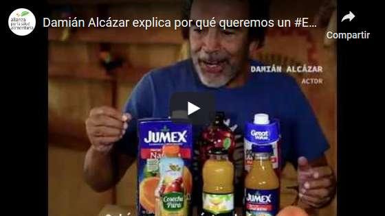 Portada del video Damián Alcázar explica por qué queremos un #EtiquetadoClaroYA