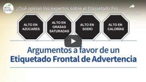 ¿Qué opinan los expertos sobre el Etiquetado Frontal de Advertencia?