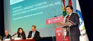 Seminario: sobrepeso, obesidad y diabetes: efectos sobre la competitividad del país
