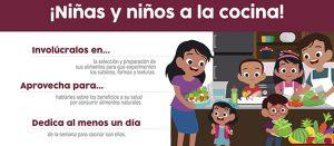 ¡Niñas y niños a la cocina!