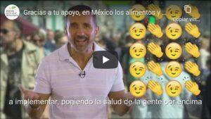 Gracias a tu apoyo, en México los alimentos y bebidas llevan etiquetado frontal de advertencia