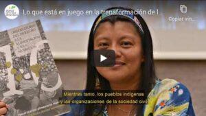 Portada del video Lo que está en juego en la transformación de los sistemas alimentarios