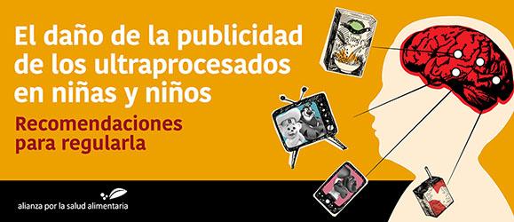 Banner del foro El daño de la publicidad de ultraprocesados en niñas y niños