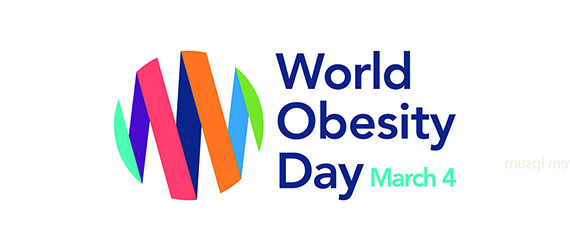 Logo Word Obesity Day (WOD) March 4